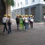 The yellow heads