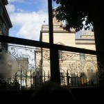View from Cafe Royal Pub